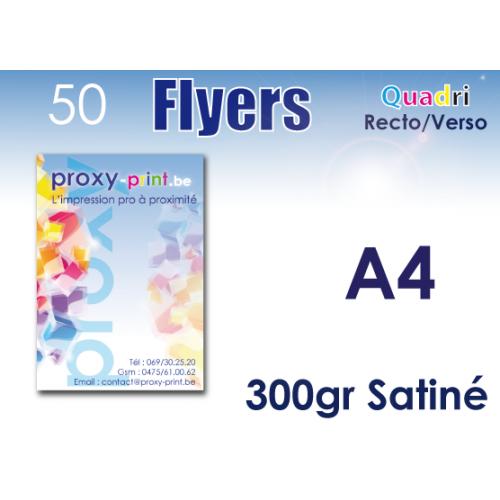 50 flyers