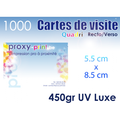 1000 Cartes de visite