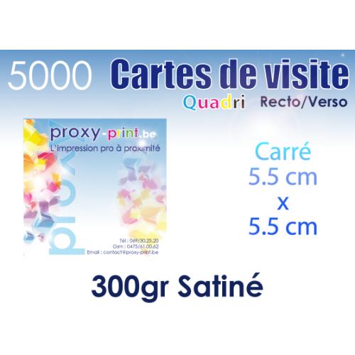 5000 Cartes de visite