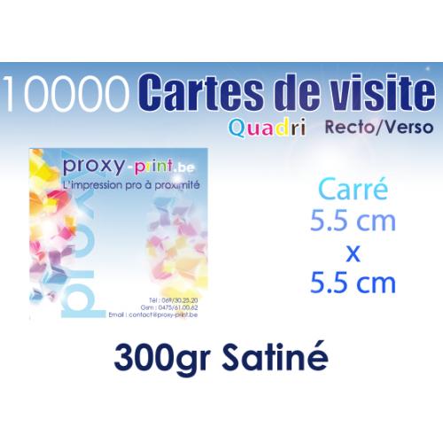 10000 Cartes de visite