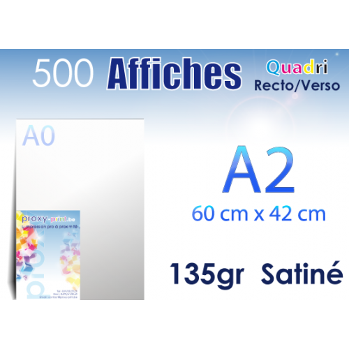 500 Affiches