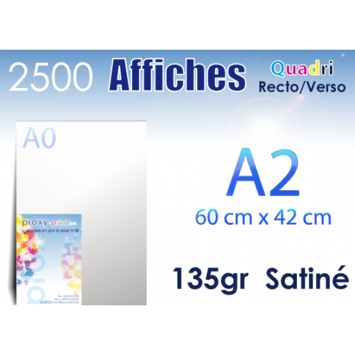 2500 Affiches