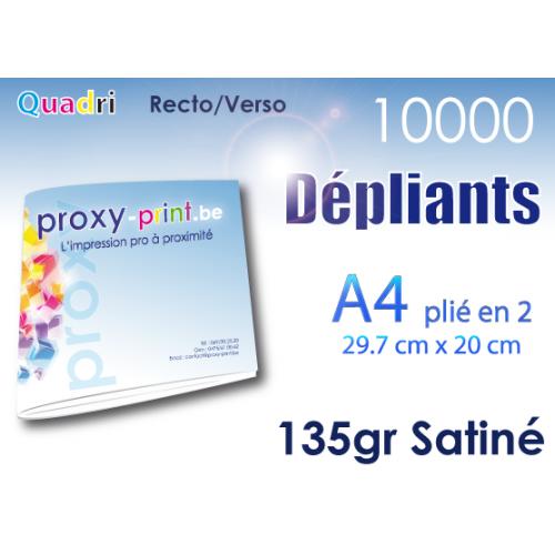 10000 Dépliants