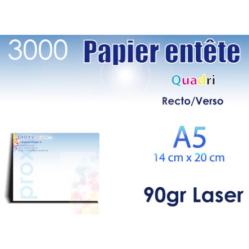 3000 Papiers entêtes