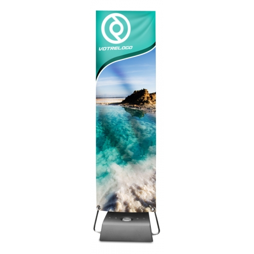 Small outdoor banner